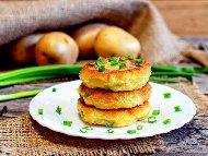 Печени картофени кюфтета със сирене на фурна